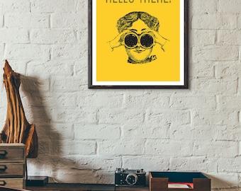 Vintage Style Art Print-Poster-Decor