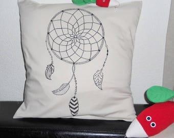 Grabbed pillow cover - dreams 40 x 40, 100% natural cotton