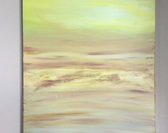 Desert Sand Storm - Large Acrylic Painting Contemporary, Modern