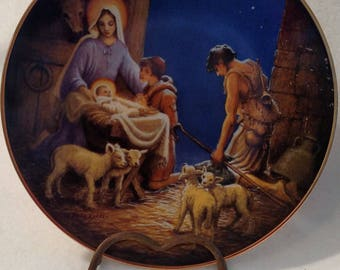 """1989 """"Adoration of the Shepherds"""" from The Life of Christ Collection"""