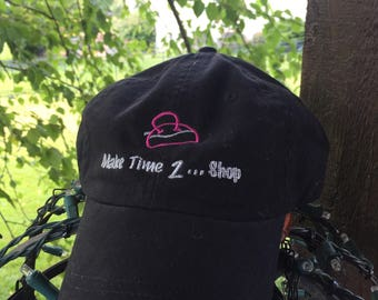 Make Time 2 Shop Embrodered Baseball Cap