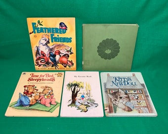 Vintage lot of children's books-collectible