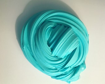 Teal Dream Fluffy Slime