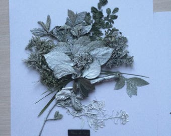Beauty of Garden 2  - Floral composition from dried flowers
