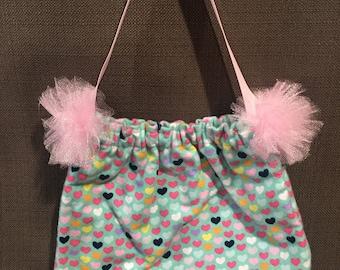 "Ballerina Shoe bag - ""Follow your heart"""