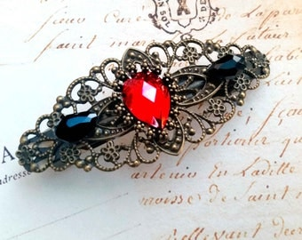 "Hair clip with ""Vintage style"""