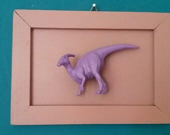 Dino pink/lilac frame