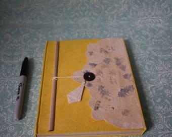 Dried Flower Lokta Journal Made In Nepal Handmade