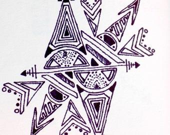 intricate geometric design