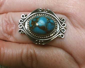 new turquoise ring