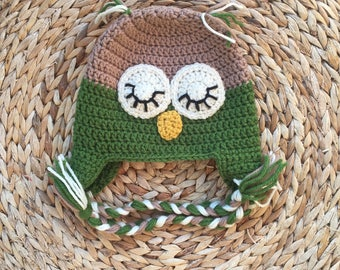 Owl Hat (Green)