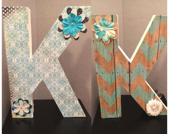 Decorative Letter- Large (Made to order)