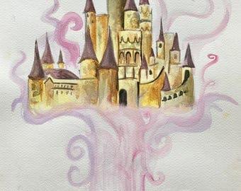 Watercolor Book Magic- Belle