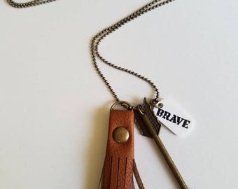 Arrow Charm Necklaces