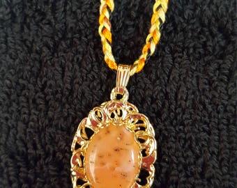 Handmade Carnelian Pendant