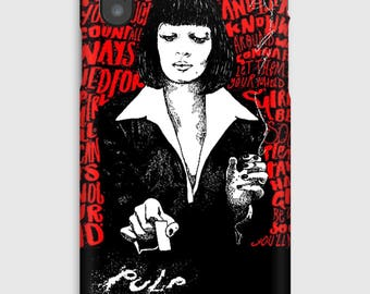 Case for iPhone X 8, 8 +, 7, 7 +, 6s, 6, 6s +, 6, 5 c, 5, 5s 5SE, 4s, 4, pulp fiction