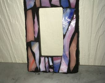 Single GFCI or Slide Glass Mosaic Light Switch Cover Plate