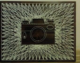 Photo Camera String Art