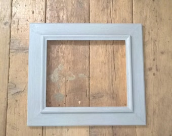 Handmade gray frame