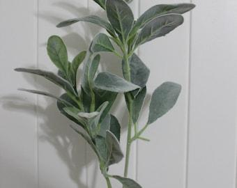 lamb ears leaf stem, artificial leaf, high quality