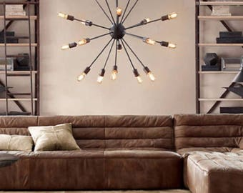 loft style pendant light 12 or 20 lights free shipping chandelier pendant