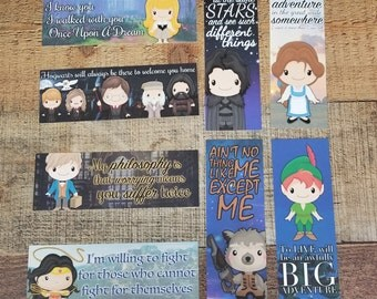 Pick Any 4 - Rep Designed Bookmarks