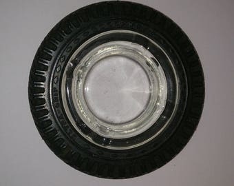 Vintage Good Year Promotional Tire Ash Tray