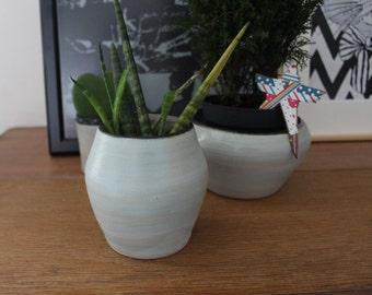 Vase - Round Ceramic Pot