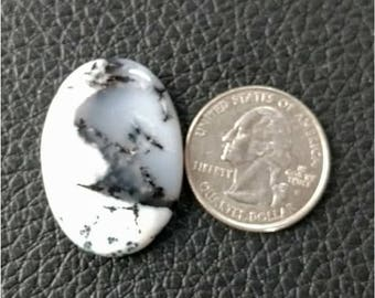 32.10x22.50 mm,Ovel Shape Dendritic Opal Cobochon/ AAA Dendritic Agate Cabochon /Merlinite Cabochon/ wire wrap stone/Super Shiny/ Cabochon