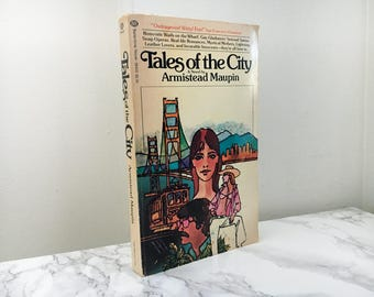 Tales of the City by Armistead Maupin (1979 First Paperback Edition)