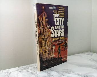 The City and Stars by Arthur C. Clarke (Vintage Paperback)