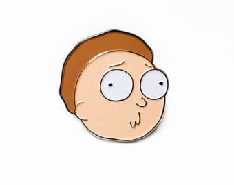 Morty Smith Derp - Rick and Morty Pin