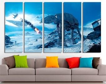 Star wars wall art | Etsy