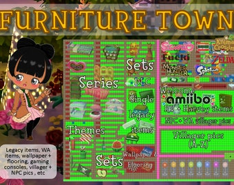 Furniture Town For Animal Crossing