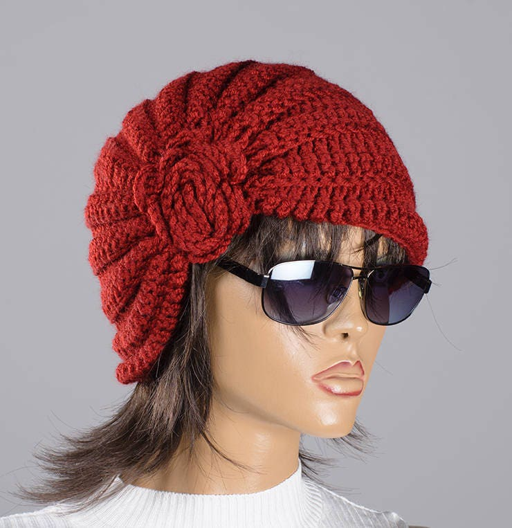 e9ea1262100 Christmas gift Knit slouchy hat Women chunky hat Women beanie hat Fall  Winter hat Fashion accessories