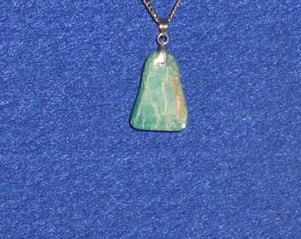 Amazonite pendant