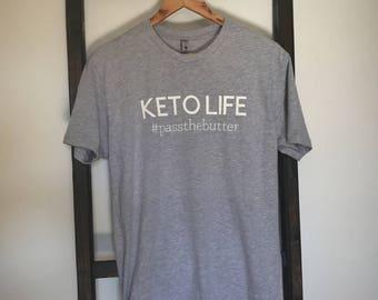 Ketolife #passthebutter Men's Graphic Tee