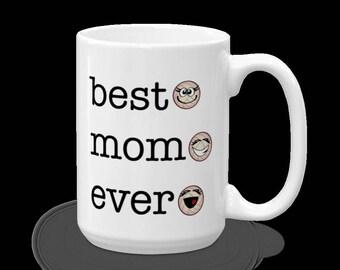 Volleyball Best Mom Ever Mug