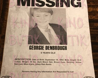 IT Movie Missing Poster