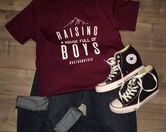 Raising a house full of boys