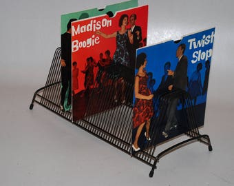 Single plate stand-so for Vinylsingels-to set up single plates-i.e. 7 inch or 45 speed-without decoration!