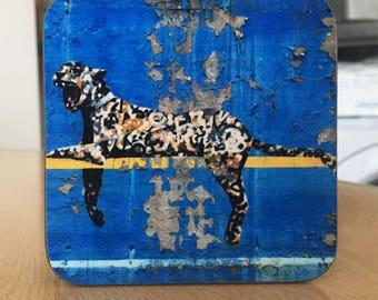 Banksy Coaster #15 - Banksy Gift - Banksy Coaster - Custom Coaster -Gift for Her - Gift For Him - Fridge Magnets - Banksy Magnet - Souvenir