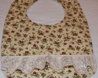 Baby Girl Bib with lace