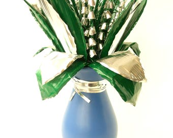 Lily of the valley, Convallaria in a vase, Metal Flower, Perfect gift fo every occasion, Flower, Flowers, Aluminium,