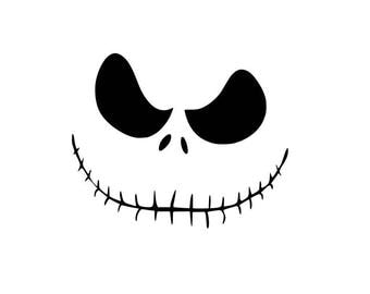Jack Skellington Nightmare before Christmas SVG