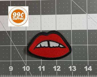 """RED LIPS Patch 