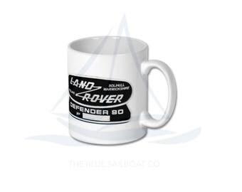 Land Rover Defender 90 Badge Mug, Defender, Truck, Defender Gift, Cars, Defender, Land Rover 90, Land Rover 110, Land Rover 130