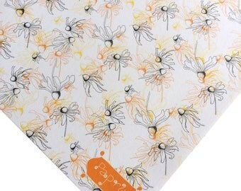 Floral Wrapping Paper Black-eyed Susie