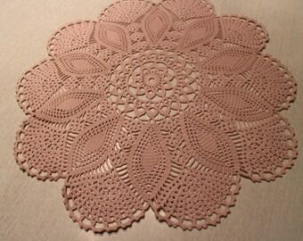 Vintage Classy & Elegant crochet 100% handmade/Doilies/crochet Cover