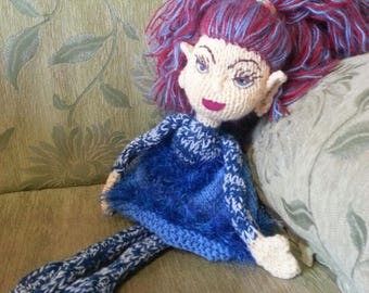 The Fairy of the Lake - Handmade Decore Doll